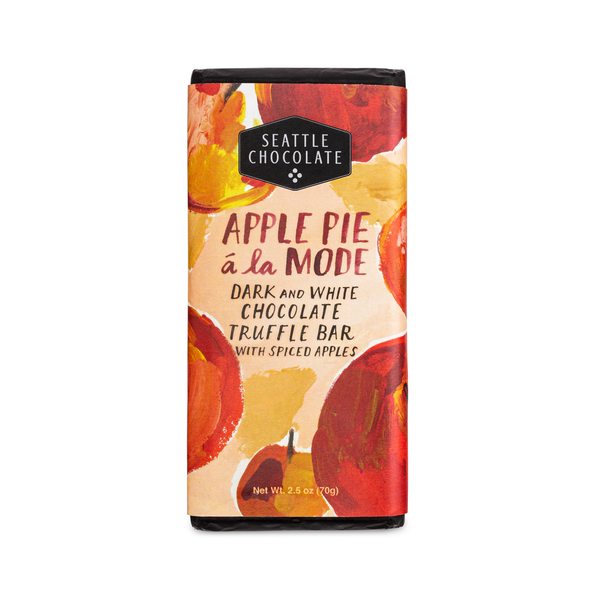Apple Pie a La Mode Truffle Bar