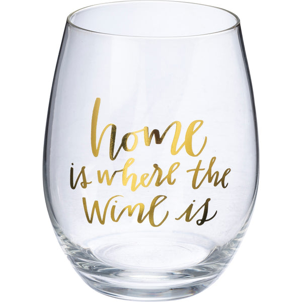 Wine Glass — Home is Where the Wine Is