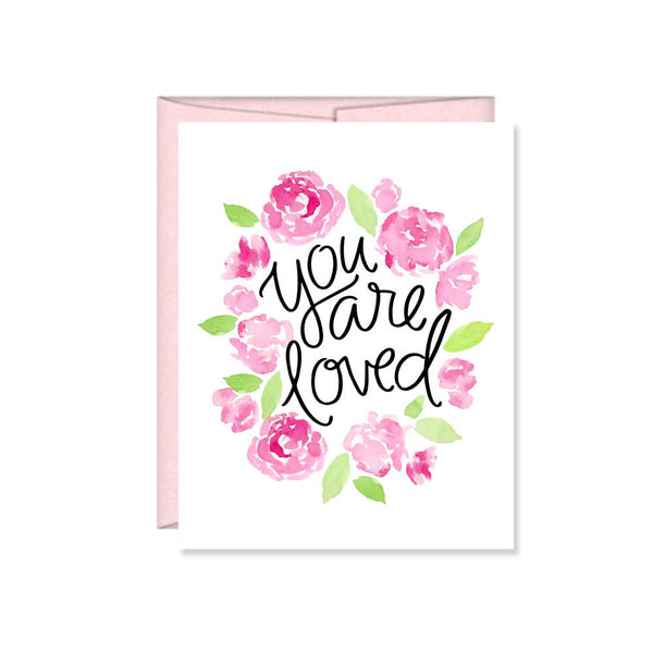 You are loved Valentine Card