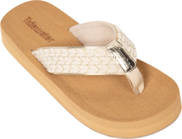 North Beach Gold Flip Flops