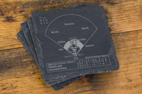 Philadelphia Phillies Greatest Plays Coasters