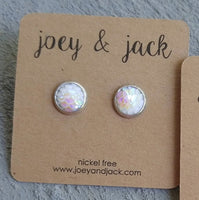 joey & jack Mermaid Scale Joey Studs