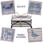 Set of Beach Coasters