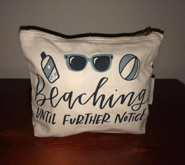 Beach Zipper Pouch
