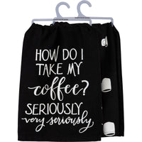 Dish Towel - Coffee Seriously