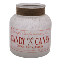 Kringle Confectionary Candy Cane Jar