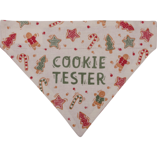 Cookie Tester Pet Bandana
