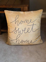 Home Sweet Home Oversized Pillow