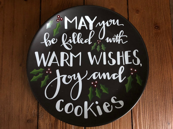 Warm Wishes Cookie Plate