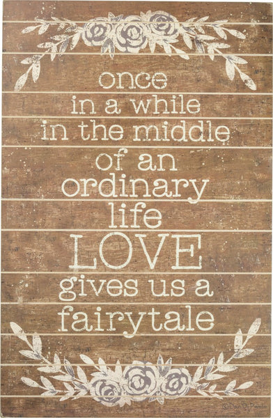 Love Gives Us a Fairytale Sign
