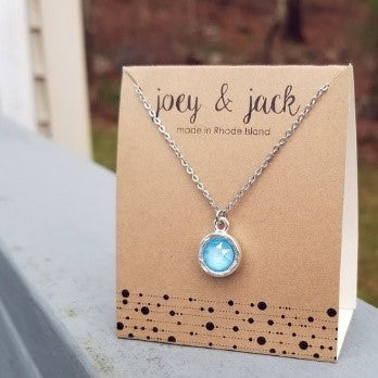 joey & jack Mini Swarovski Glam Necklace
