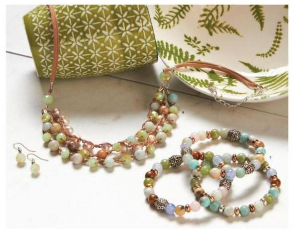 Walk on the Beach Jewelry Set