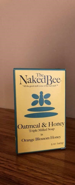 The Naked Bee Oatmeal & Honey Soap