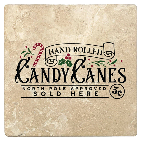 Candy Canes Sold Here Coasters