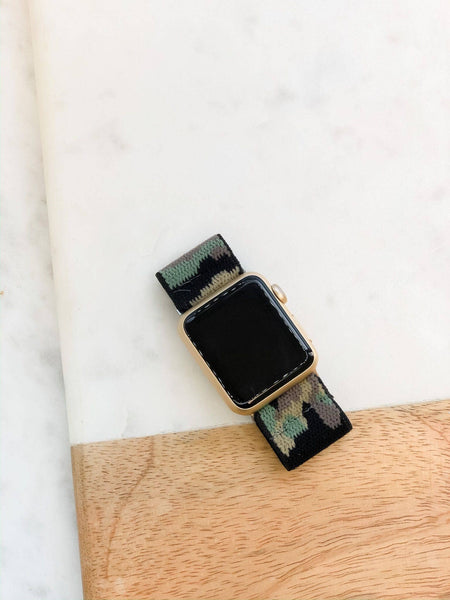 Camouflage Stretch Watchband