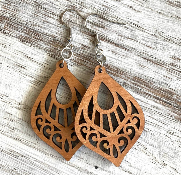 Mandala Drop Earrings