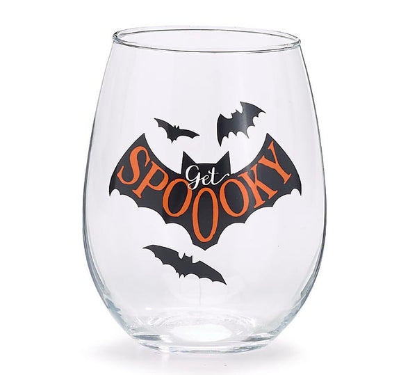 Spooky Wine Glass