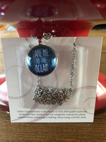 Urban Charm Necklace—Take Me to the Ocean