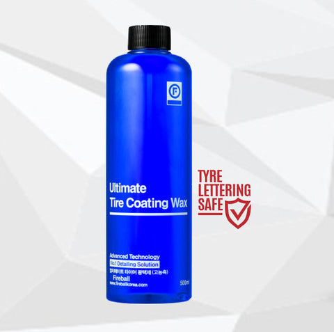 Ultimate Tyre Coating Wax (Blue Gloss) - 500ml
