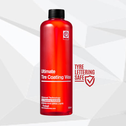 Ultimate Tyre Coating Wax (Red Satin) - 500ml