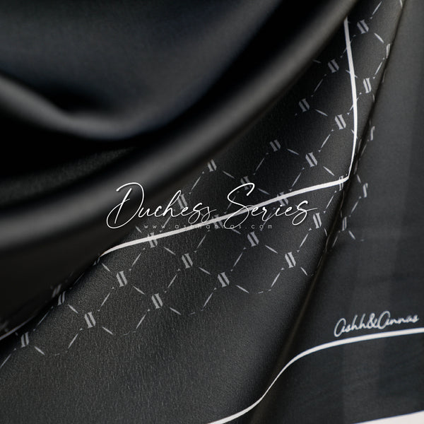 Duchess Series in Bella Mixed Satin Silk (Square)