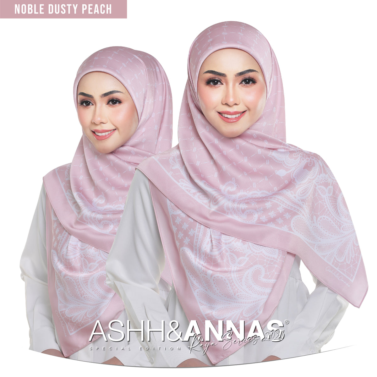 Ashh&Annas Raya 2021 in Noble Dusty Peach