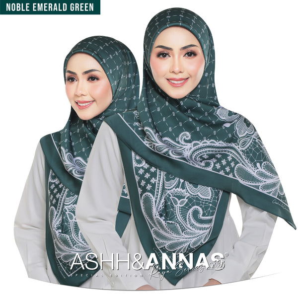 Ashh&Annas SE 2021 in Noble Emerald Green