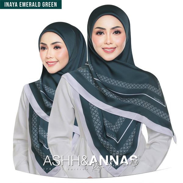 Ashh&Annas SE 2021 in Inaya Emerald Green