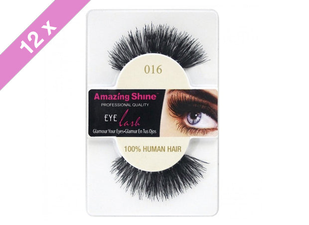 False Eyelashes #016 (12 Pack)