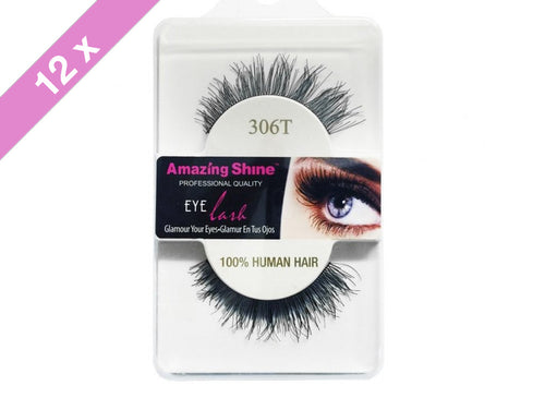 Amazing Shine eyelashes # 306T (12 Pack)