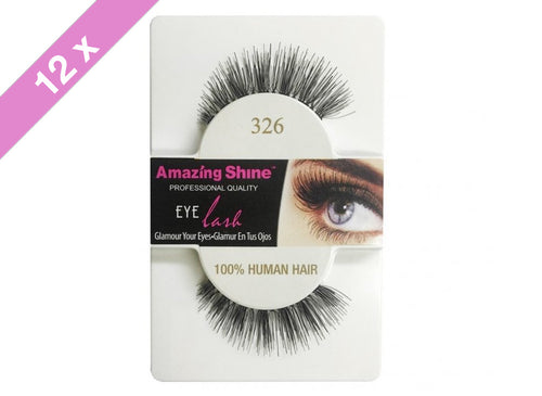 Amazing Shine eyelashes #326 (12 Pack)