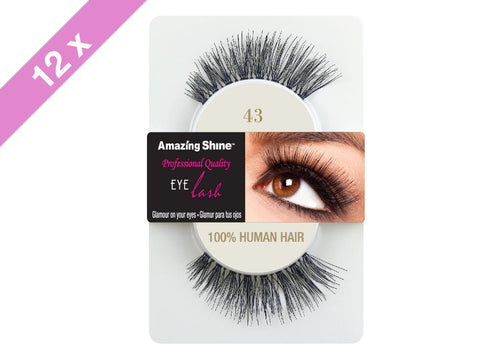 Amazing Shine eyelashes #43 (12 Pack)