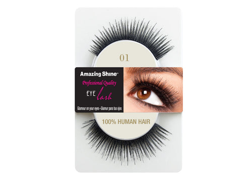 Amazing Shine eyelashes #01 (1 pair)