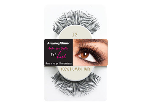 Amazing Shine eyelashes #12 (1 pair)