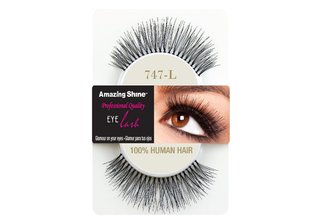 False Eyelashes #747L (1 pair)