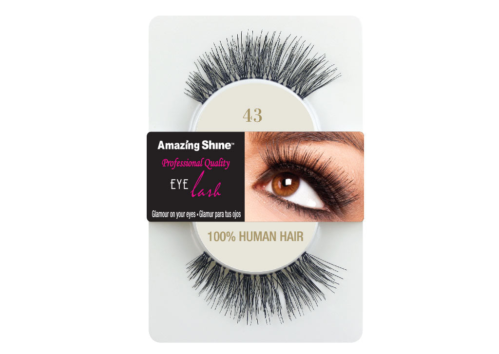 Amazing Shine eyelashes # 43 (1 pair)