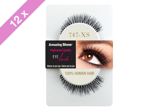 Amazing Shine eyelashes #747XS (12 Pack)