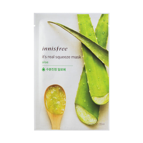innisfree - It's Real Squeeze Mask [aloe]