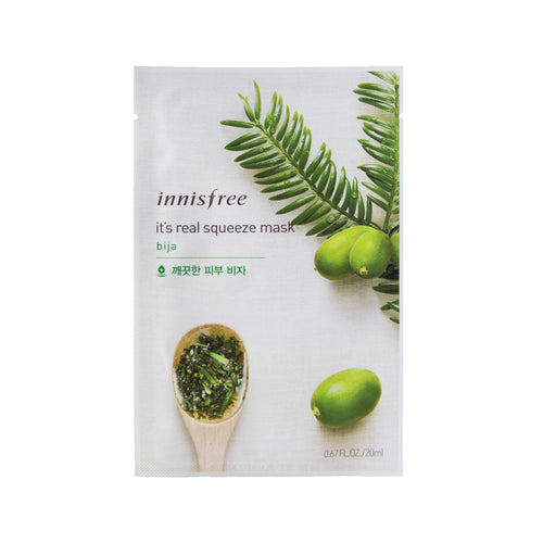 innisfree - It's Real Squeeze Mask [bija]
