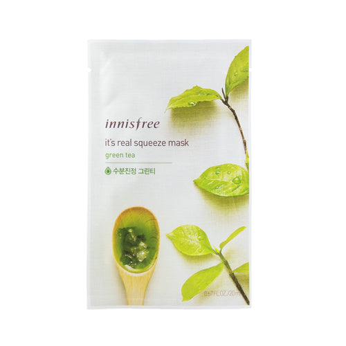 innisfree - It's Real Squeeze Mask [green tea]