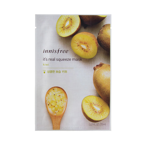 innisfree - It's Real Squeeze Mask [kiwi]