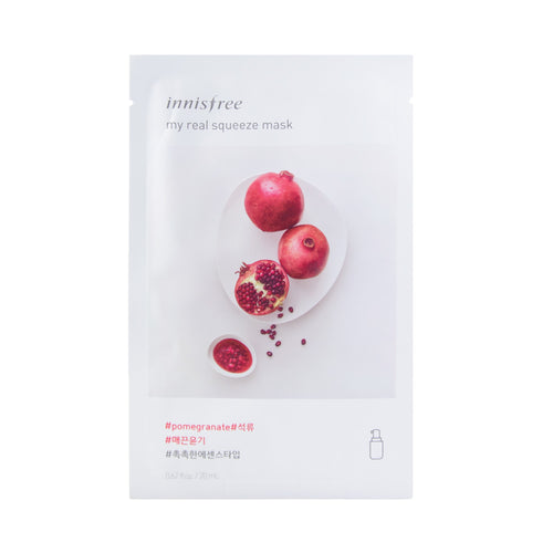 innisfree - It's Real Squeeze Mask [pomegranate]