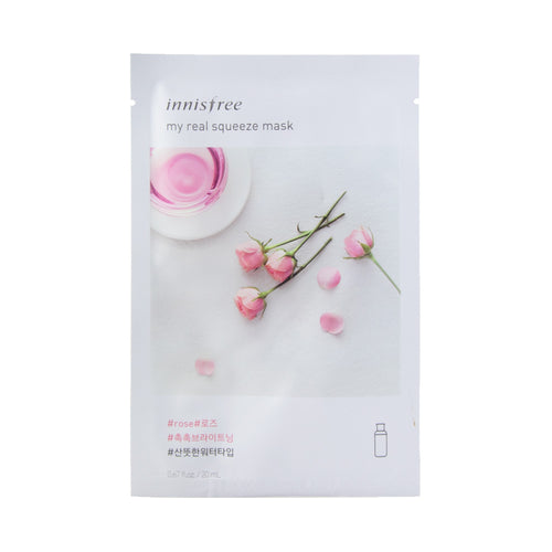 innisfree - It's Real Squeeze Mask [rose]