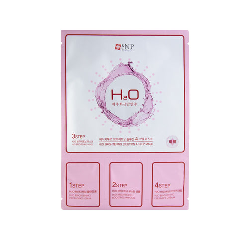 SNP -H20 Brightening Solution 4 Step Mask