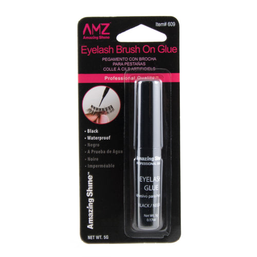 Amazing Shine eyelash glue 5g (black, Brush On) #609
