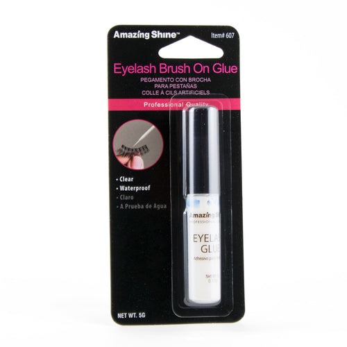 Amazing Shine eyelash glue 5g (clear, Brush On) #607