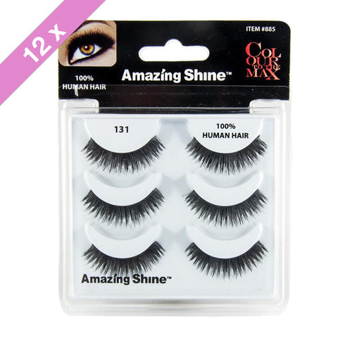 Amazing Shine eyelashes Trio # 131 (12 Pack)