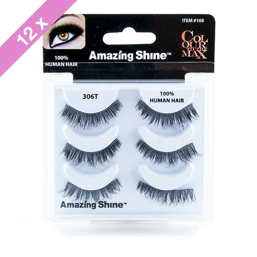 Amazing Shine eyelashes Trio # 306T (12 Pack)