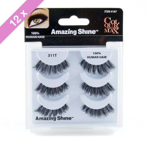 False Eyelashes Trio #311T (12 Pack)