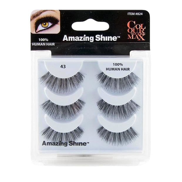 False Eyelashes Trio #43 (3 pairs)